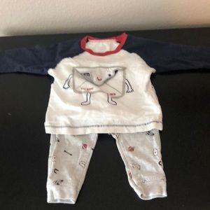 Old Navy 3-6 month baby boy Set